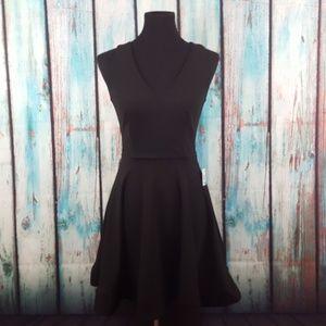NWT B. Darlin Open Back Fit & Flare Dress